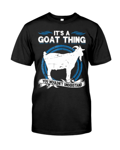 Goat Animal Lover Funny Shirt - It's A Goat Thing