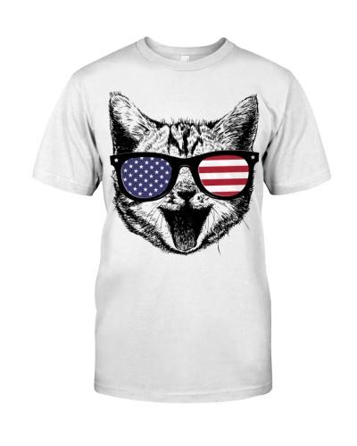 Cat t shirt - 4th of july shirts
