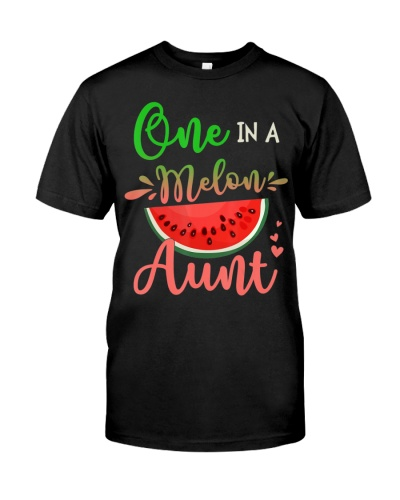 Family One In A Melon Aunt Birthday Party Matching