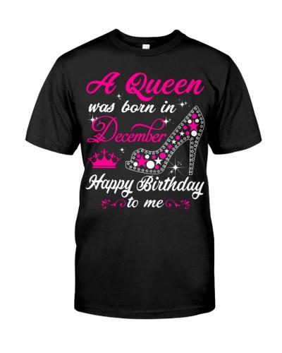 A Queen was born in December