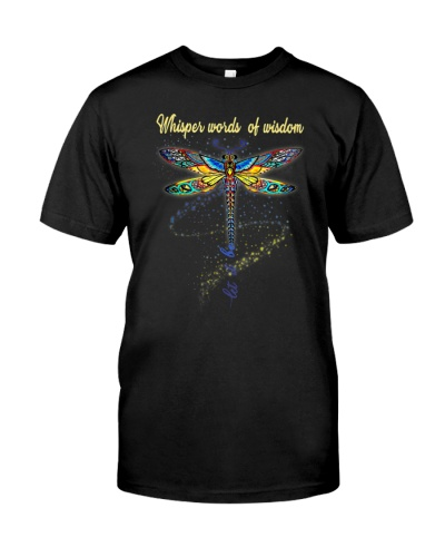 Dragonfly Whisper Words Wisdom Hippie