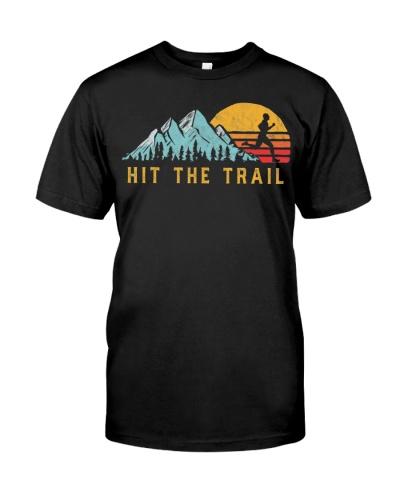 Hit the Trail Runner - Retro Style Vintage Running