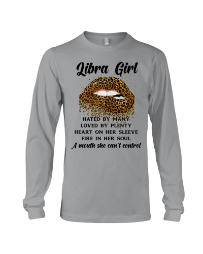 Libra girl hated by many - Leopard lips mouth