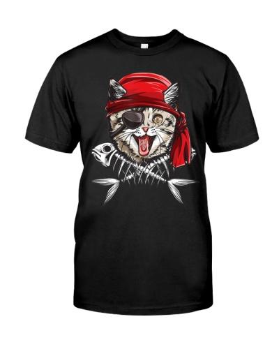 Cat Pirate Jolly Roger Flag Skull And Crossbones