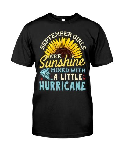 September Girl Birthday T-Shirt