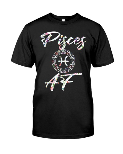 Pisces Shirt Born In February March Birthday Gift