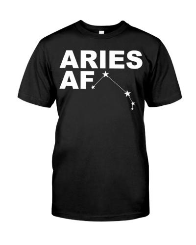 Aries AF Shirt - Star Sign Constellation Shirt