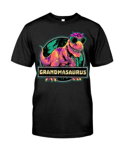 Grandmasaurus T-Rex Grandma Saurus Dinosaur Family