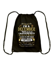 December December Drawstring Bag thumbnail
