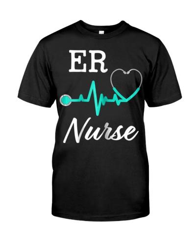 Womens ER Nurse Womens Shirt