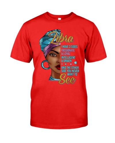 Libra Love Gift - Black Woman Afro Horoscope