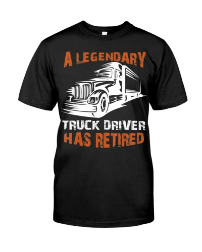 A Legendary Truck Driver Has Retired Perfect Truck
