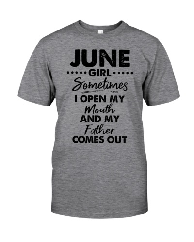 June Girl Sometimes I Open My Mouth