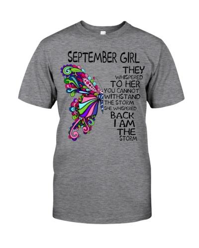 September Girl She Whispered Back I Am The Storm