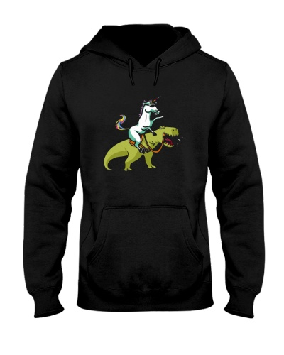 Dino Rainbow Unicorn Shirts