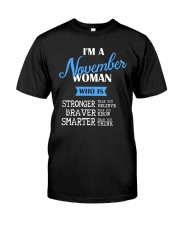 November November Classic T-Shirt front