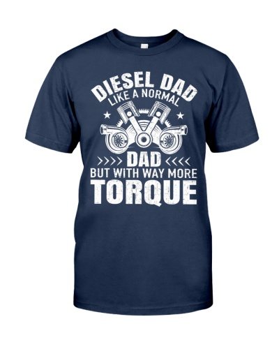Diesel Mechanic Dad Automobile Fathers Day T-Shirt