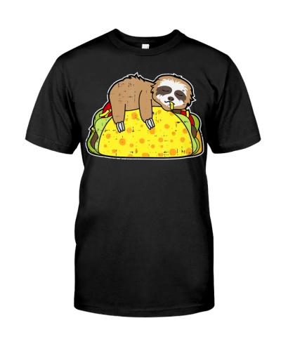 Funny Sloth Tacos Tuesday Cinco De Mayo Drink