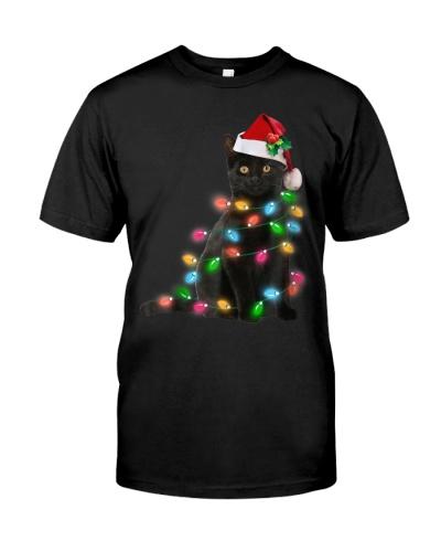 Black Cat christmas light