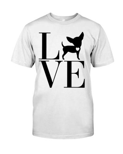 Chihuahua shirt - I Love My Chihuahua Dog