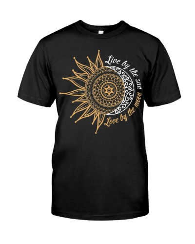 Live By The Sun Love By The Moon Hippie Life