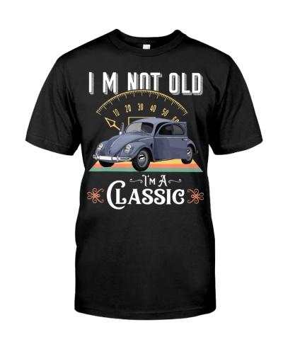 Im Not Old Im Classic Vintage American Hippie