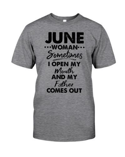 June Woman Sometimes I Open My Mouth