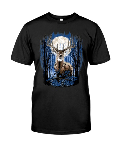 Hunters Deer Hunting Big Whitetail Buck T-Shirt