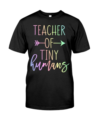 Womens Teacher Of Tiny Humans T-Shirt