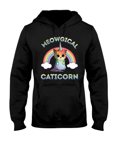 Meowgical Caticorn - Unicorn Shirts