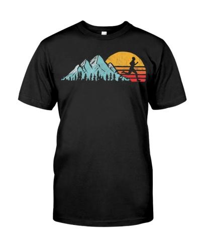 Mountain Runner - Retro Style Vintage Running