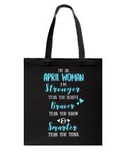 April April Tote Bag thumbnail