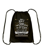 May May Drawstring Bag thumbnail