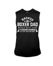 Badass Boxer Dad Wiggle Butt Club Founding Member Sleeveless Tee thumbnail