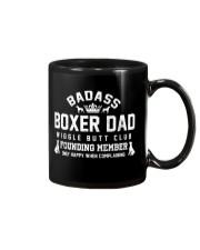 Badass Boxer Dad Wiggle Butt Club Founding Member Mug thumbnail