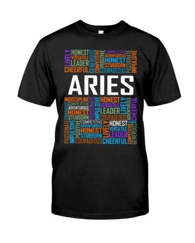 Aries Zodiac Traits Horoscope Astrology Sign Gift