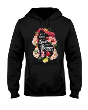 All i need is love and a Boxer  Hooded Sweatshirt thumbnail