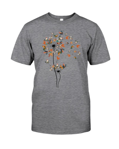 Dandelion Chicken Flower Shirt