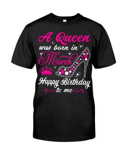 A Queen was born in March