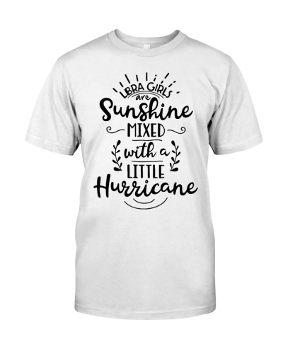 Libra girl sunshine mixed with hurricane