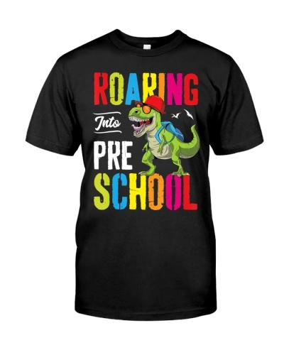 Roaring Into Preschool Dinosaur Teacher Pre-K