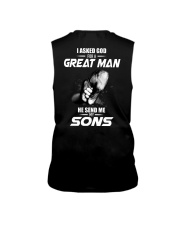 I Asked God For a Great Man Sleeveless Tee thumbnail