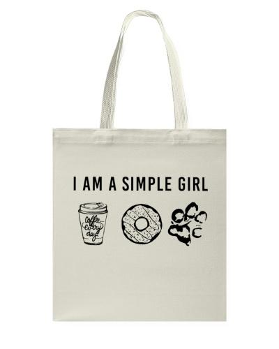 I Am A Simple Girl - Dog Shirts