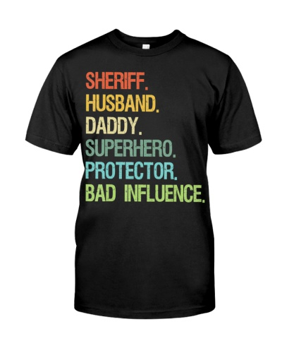 Sheriff Husband Daddy Superhero Protector