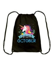 October October Drawstring Bag thumbnail