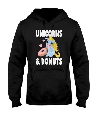Unicorns And Donuts - Unicorn Shirts