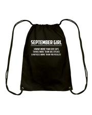 September September Drawstring Bag thumbnail