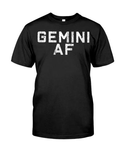 Gemini T-Shirt Astrology Birthday Gift Zodiac Sign