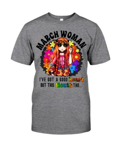 March woman i've got a good heart