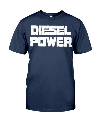Diesel Power Shirt T-Shirt Truck Turbo Brothers